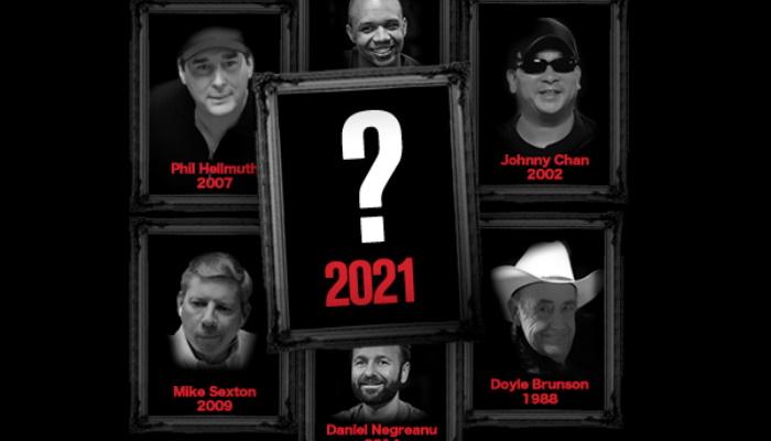 2021 Poker Hall of Fame